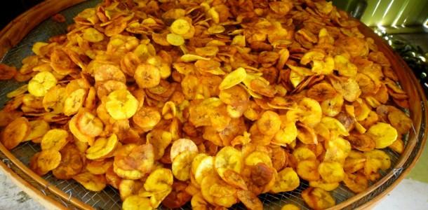 comida - banana frita