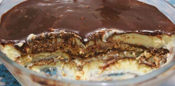 pave de creme com chocolate meio amargo 01