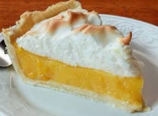 Torta de limão merengue